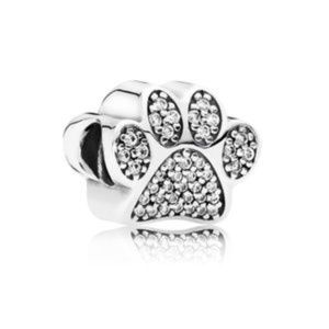 Authentic Pandora Paw Print Charm